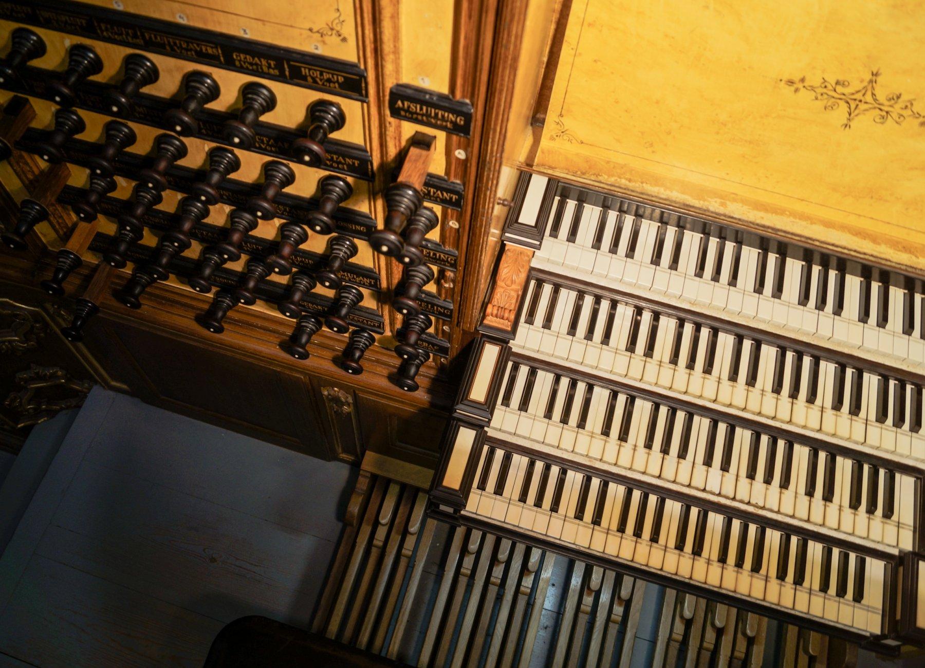 Organist Marco den Toom